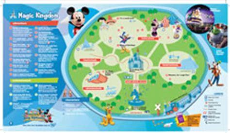 walt disney world maps for kids