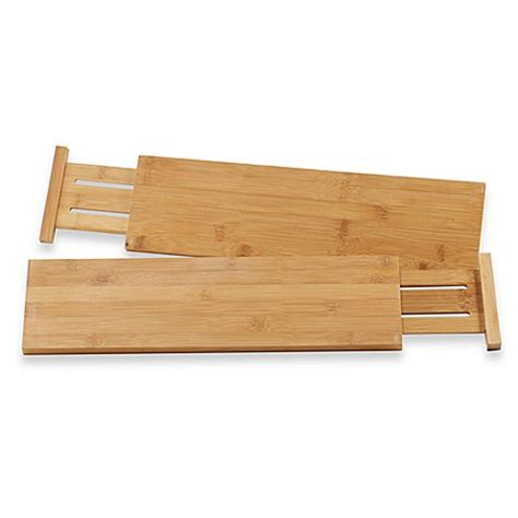schubladen abtrennungen buy lipper international bamboo kitchen drawer dividers