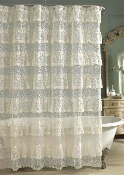 shower curtain lace 119 best images about shower curtains on pinterest lace