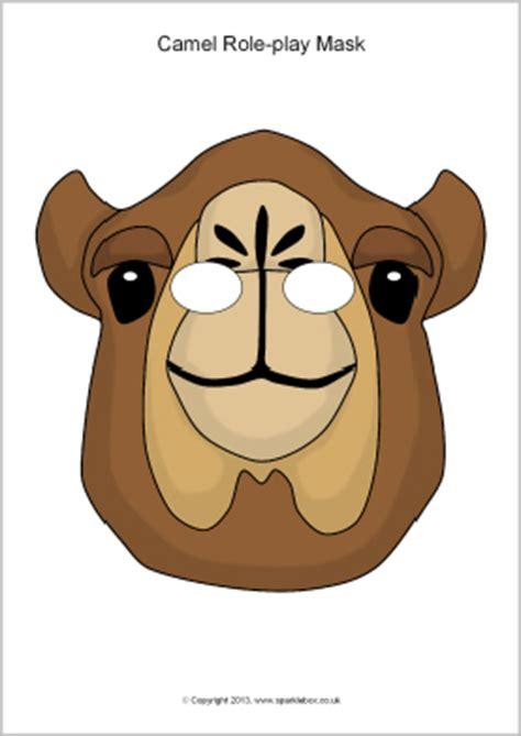 printable nativity animal masks great website for all kinds of animal masks camel role