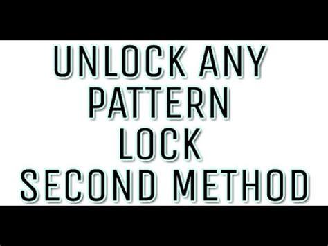 youtube pattern lock crack pattern lock alternative method 2017 android youtube