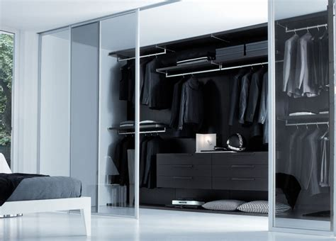 bedroom wardrobe design ideas with closet brilliant black
