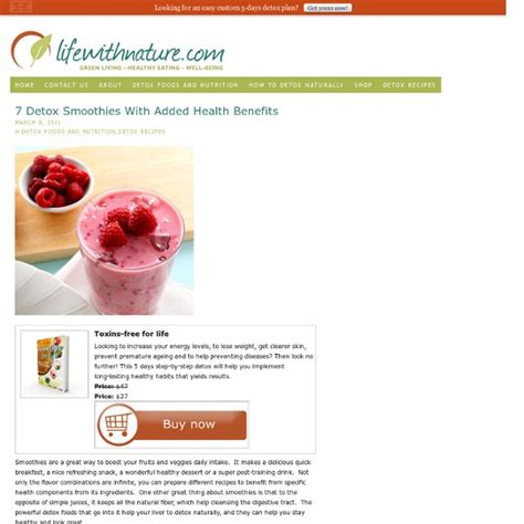 Detox Pearl by Detox Smoothies Pearltrees