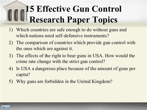 research paper on gun research papers dating exclusive custom school