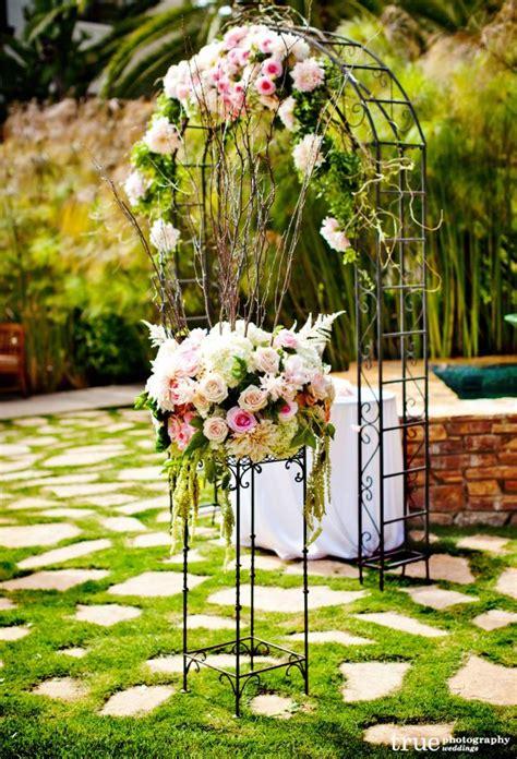 wedding inspiration an outdoor ceremony aisle wedding