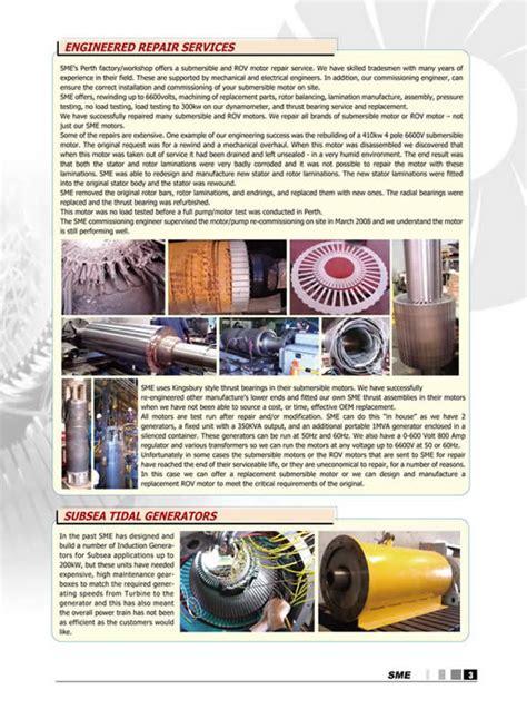 induction motor overhauling procedure specifications