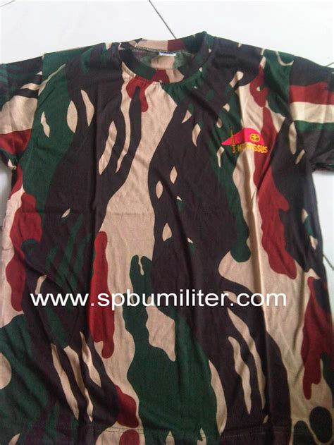 Jaket Loreng Kopasus Pom kaos kopassus loreng baret spbu militer