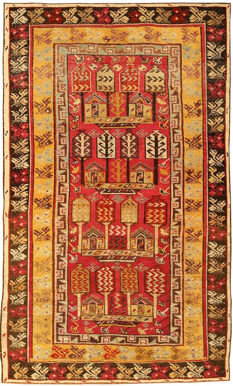 Antique Turkish Rugs by Antique Ghiordes Turkish Rug 1446 Nazmiyal Collection