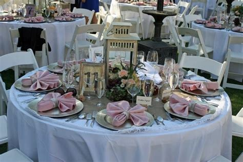 Day 6 Table Settings As by Burlap And Lace Wedding Table Settings One Day