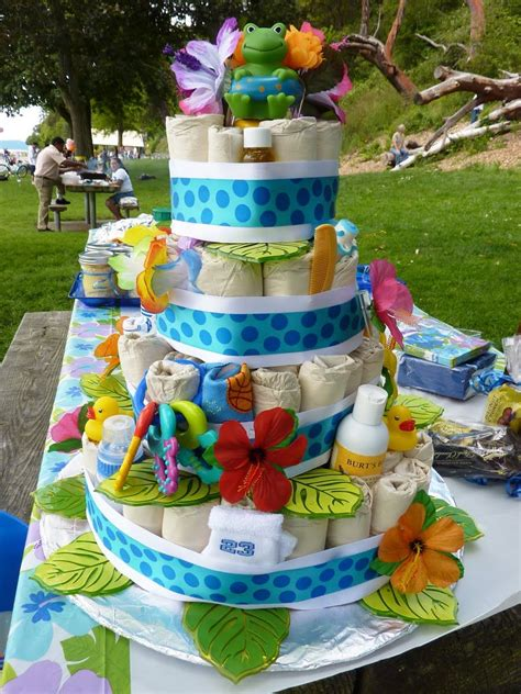 Luau Baby Shower by Luau Baby Shower Ideas Front Of Quot Cake Quot Ideas