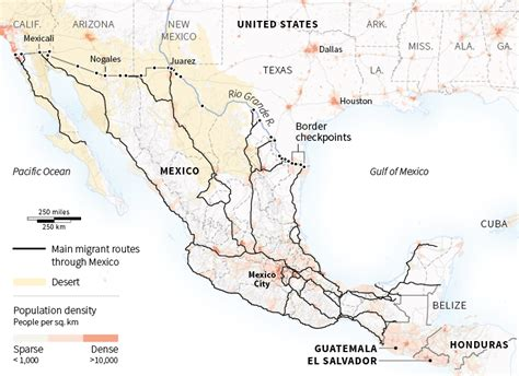 map usa and mexico border united states mexico border map