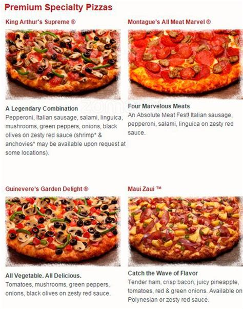 round table pizza escondido ca round table pizza menu menu for round table pizza