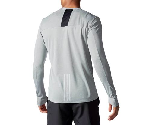 T Shirt Run Dc White adidas supernova sleeved s running top grey