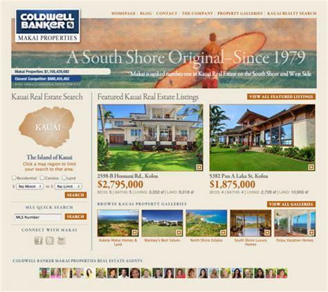 homes websites realty marketing website development