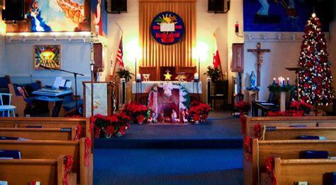 christmas decorating ideas for churches church decoration church decorations dec photos st paul parish interior designs