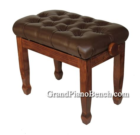 how high is a piano bench adjustable piano bench pillow top