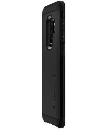 Spigen Tough Armor Samsung Galaxy S9 S9 Plus Black spigen tough armor hoesje samsung galaxy s9 plus black gsmpunt nl
