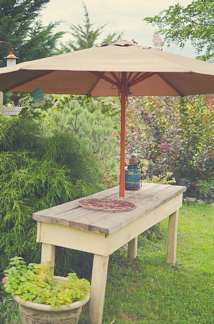 Patio Umbrella Ollies 1000 Images About Garden Bench On Crafting