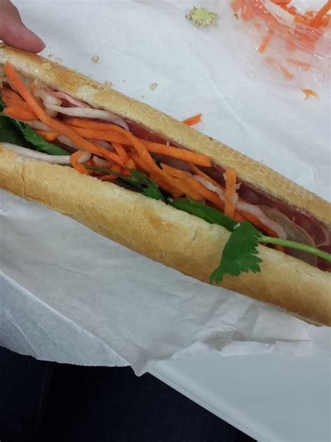 baguette house house combo thit nguoi sandwich yelp