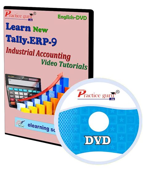 video tutorial for tally erp 9 tally erp 9 industrial accounting video tutorial dvd buy