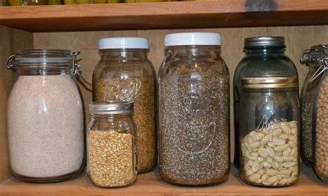 Glass Pantry Jars by 10 Best Foods To Stock In Your Pantry How To Store Foods