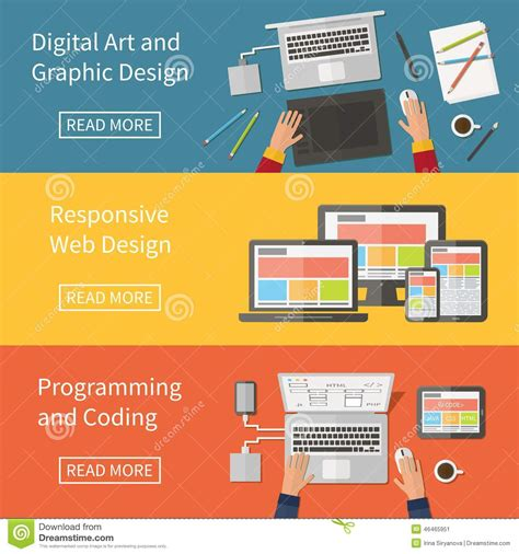web design and programming tutorial graphic and web design programming digital art stock