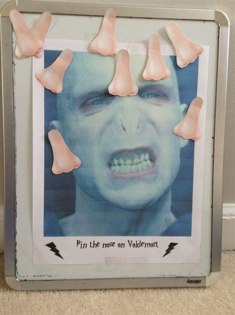 Pin The Nose On Voldemort Print Out About  Noses And A