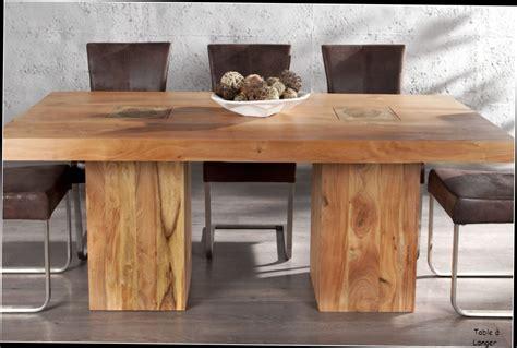 table ronde avec rallonge belgique grande table a manger en bois d acacia non traite 30 id 233 es
