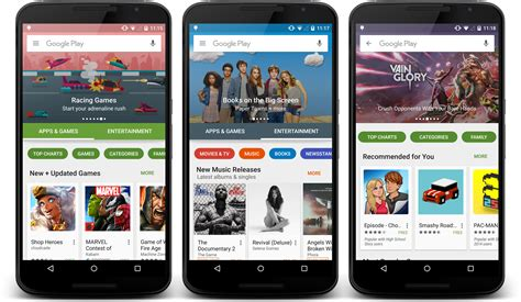 Android Play Store Like Ui Play Store Getting Fresh New Look Major Ui Update