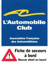 Ch Aufkleber Tcs by How To Get The Rescue Sheet Into Your Car Fia Foundation
