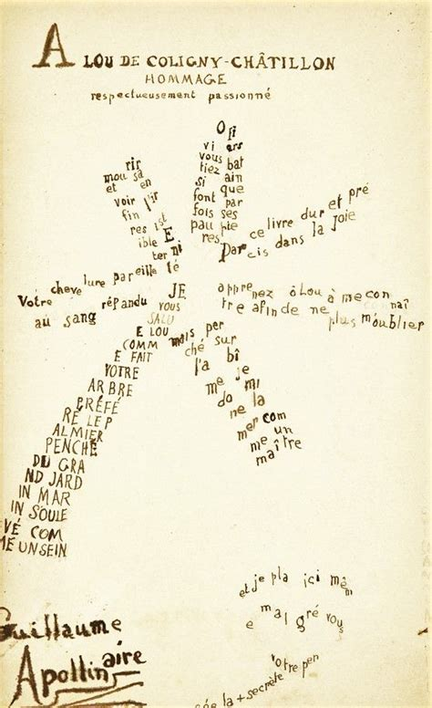 apollinaire guillaume graphic design history the red list 17 best images about māksla un valoda on pinterest