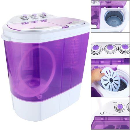 auauna mini  lbs portable washing machine compact washer