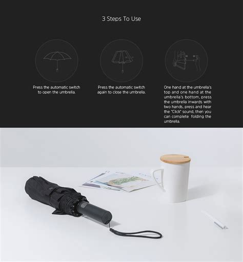 Xiaomi Umbrella xiaomi umbrella automatic foldable sun umbrella