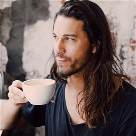 male models with long straight hair long wavy hair archives long hair guys