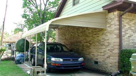 carport installation 2012
