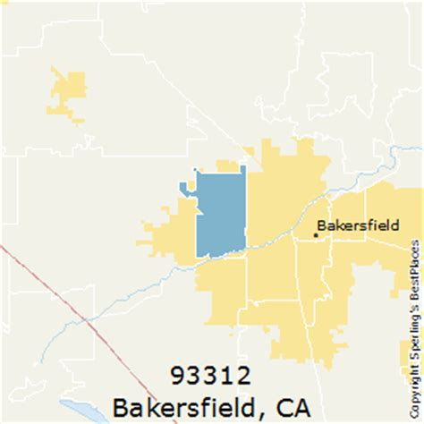 zip code map bakersfield ca best places to live in bakersfield zip 93312 california