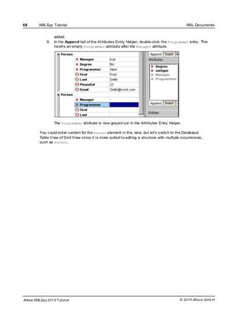 xmlspy tutorial xml spy tutorial