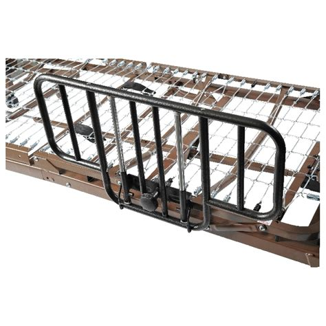 medical bed rails drive medical multi height manual hospital bed with half