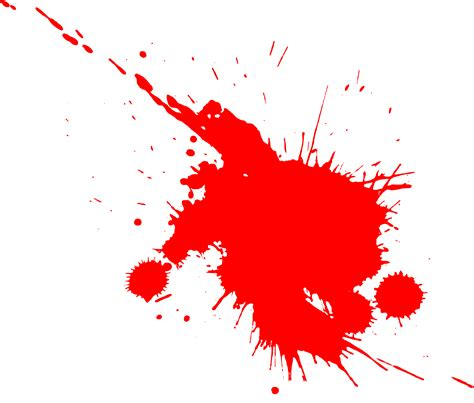 15 paint splatters png transparent onlygfx