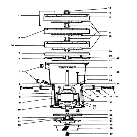 rainbow vacuum parts diagram rexair rainbow d3 repair parts diagrams