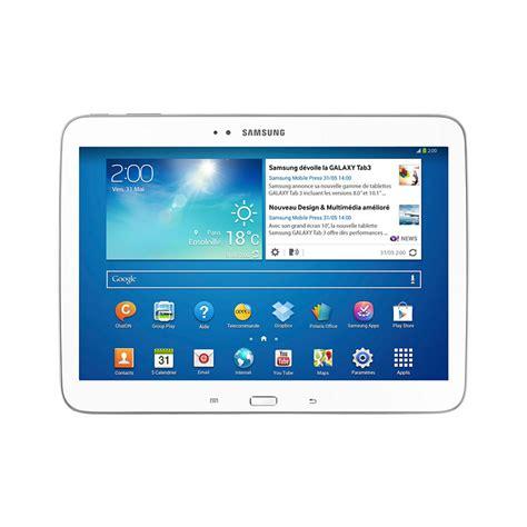 Samsung Tab 3 Tm 211 tablette galaxy tab 3 10 1 pouces wi fi blanche gtp5210