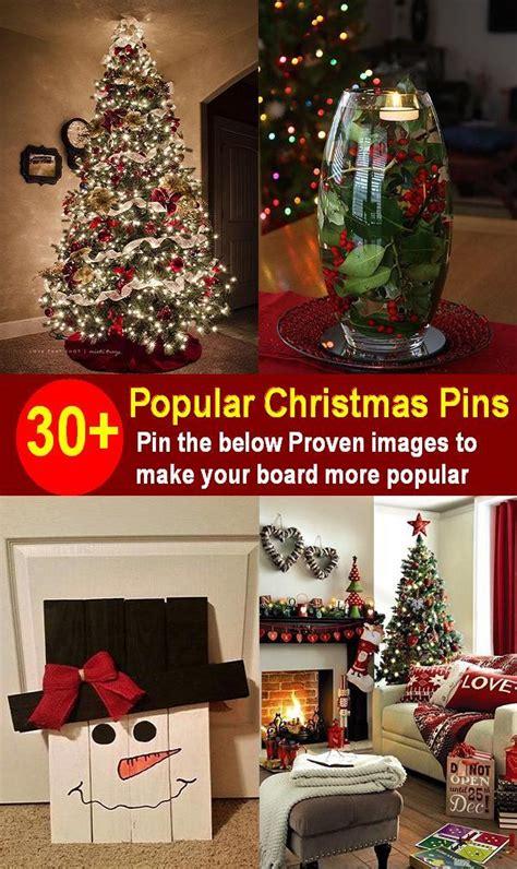 popular christmas pins  pinterest christmas