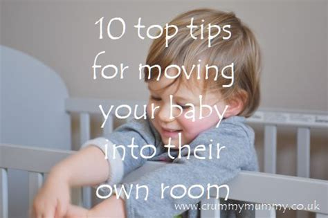 moving baby to own room confessions of a crummy mummy