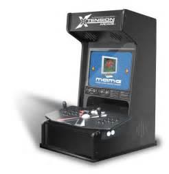 Bartop Arcade Cabinet by Xtension Mini Arcade Cabinet For X Arcade Tankstick