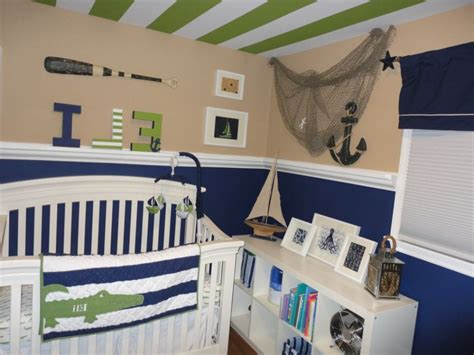 Nautical Themed Nursery Decor Navy Themed Nursery Thenurseries