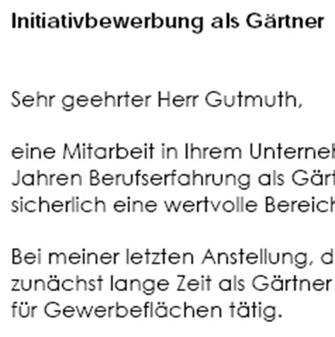Muster Rechnung Gärtner Bewerbungsschreiben Muster Bewerbungsschreiben G 228 Rtner