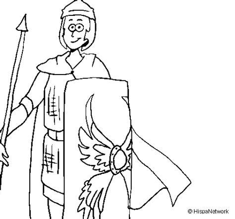 roman soldier ii coloring page coloringcrew com
