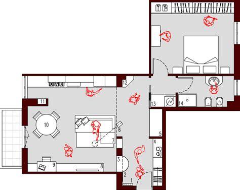 progetto appartamento 65 mq progetto 65 mq architettura a domicilio 174