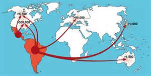 american migration from asia map assassin bugs part two the informative part