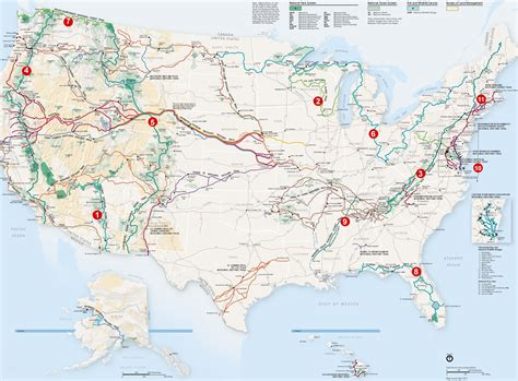 distance hiking trails
